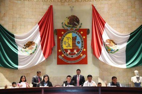 Acuerda Diputación Permanente exhortos en beneficio de familias afectadas por sismos