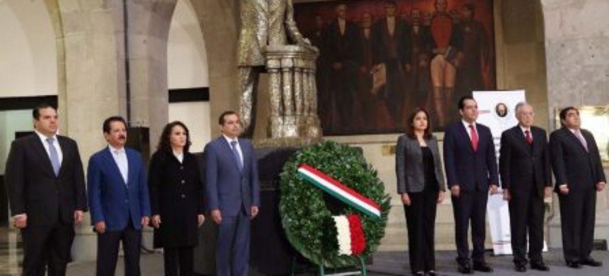 Conmemora Senado el 104 aniversario luctuoso de Belisario Domínguez Palencia