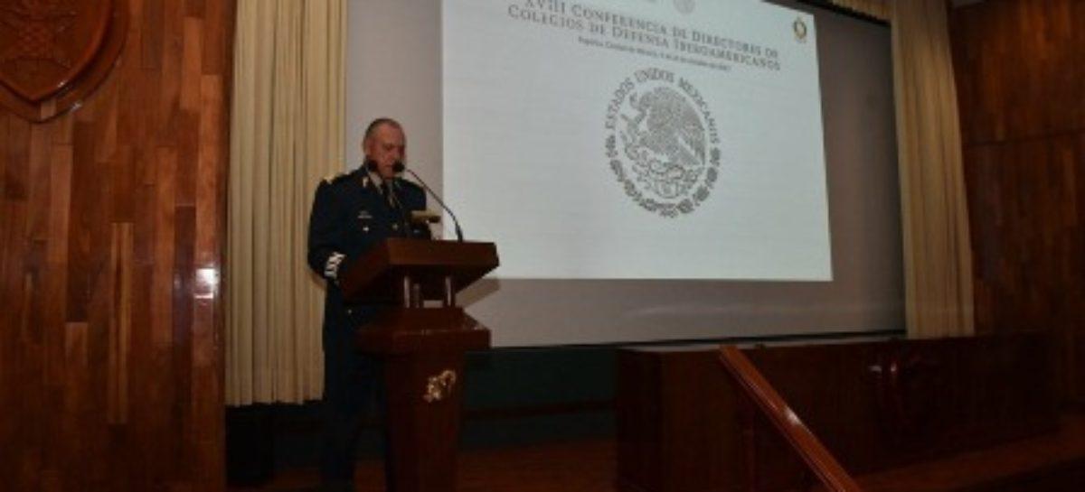 """Inaugura SEDENA """"XVIII Conferencia de Directores de Colegios de Defensa Iberoamericanos"""""""