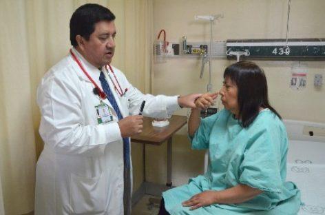 Tratan médicos del IMSS ataque cerebral y revierten secuelas con trombolisis venosa