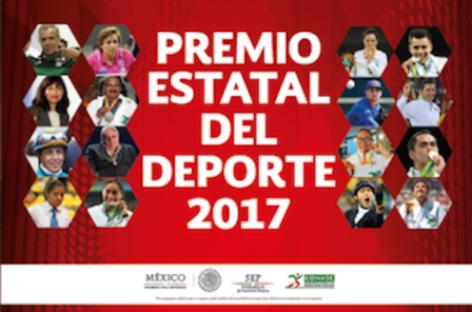 América Maite Comonfort e Iván de Jesús Carbajal acreedores al Premio Estatal del Deporte 2017
