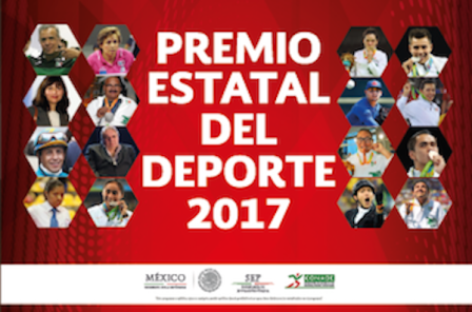 Presentan a candidatos del Premio Estatal del Deporte 2017 en Oaxaca
