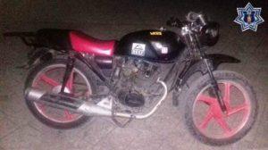 Motocicleta Italika, color rojo, número de serie 3SCPFTDEXG1044019.