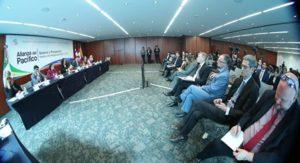 """Foro """"Alianza del Pacífico: Balance y Prospectiva frente a la renegociación del TLCAN""""."""