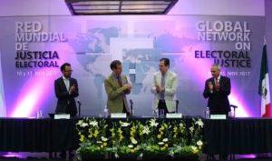 Clausuran trabajos de la Primera Sesión Plenaria de la Red Mundial de Justicia Electoral.