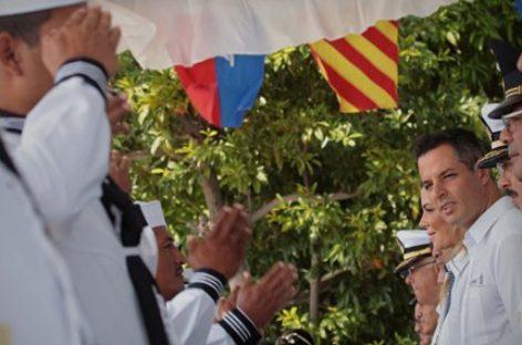 Entregan condecoraciones durante conmemoración del Día de la Armada de México