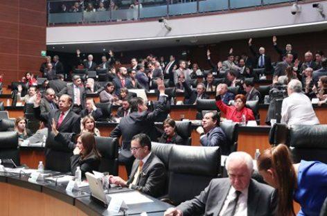 Ratifica Senado grados navales y militares propuestos por el ejecutivo Federal