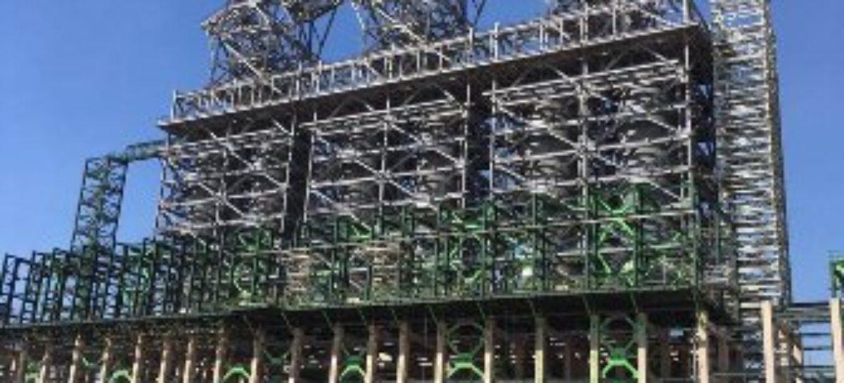 Instalan torre fraccionadora en la refinería de Tula, Hidalgo
