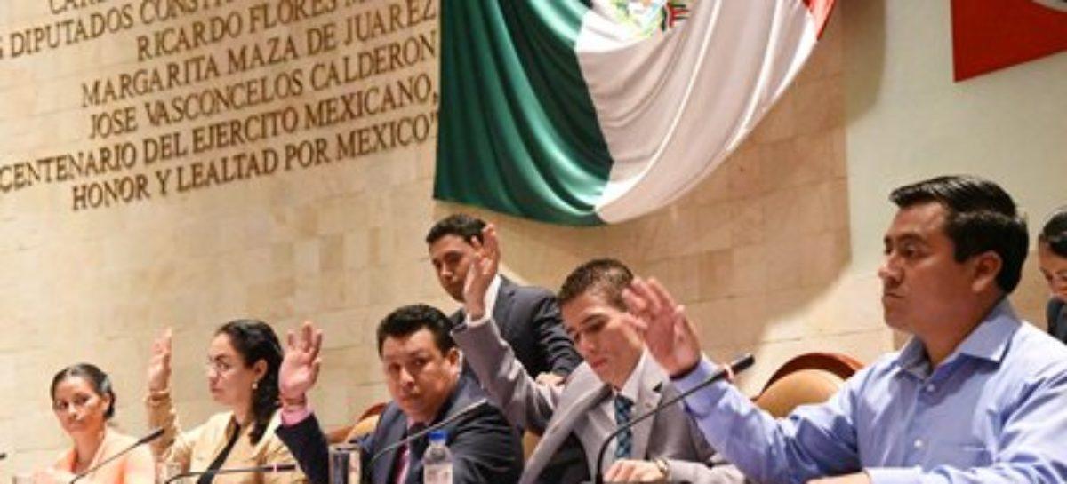 Renovará Legislativo de Oaxaca presidencia de la JUCOPO y Mesa Directiva