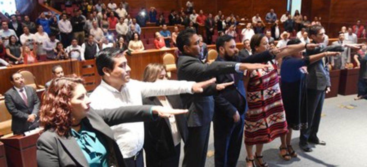 Jesús Romero López, de Morena, preside Mesa Directiva; María de las Nieves García Fernández, del PRI, la JUCOPO
