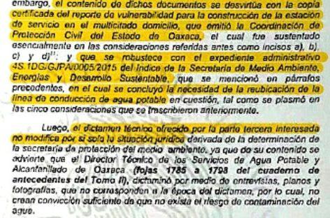 Confirma juez federal suspensión de gasolinera de Brenamiel porque contaminaría el agua