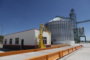 Totalmente mecanizado, el granelero de Santiago de Anaya, con capacidad para almacenar 15 mil toneladas de maíz.