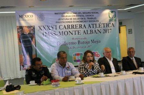 Lanzan convocatoria para la Carrera Atlética IMSS Monte Albán