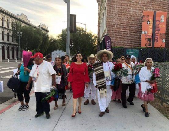 Realiza Gobierno de Oaxaca Tercera Guelaguetza Familiar en Estados Unidos