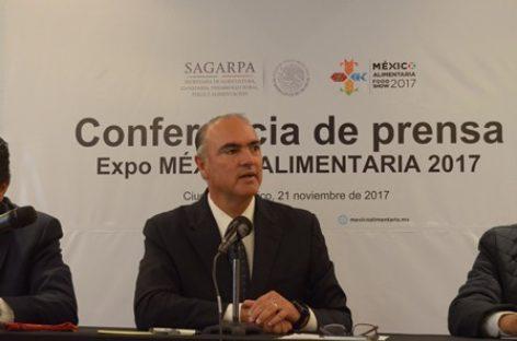 """Expo México Alimentaria 2017"", gran ventana de productos del campo nacional al mundo"