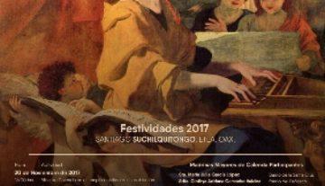 Festejan a Santa Cecilia, patrona de los músicos, en Santiago Suchilquitongo, Oaxaca
