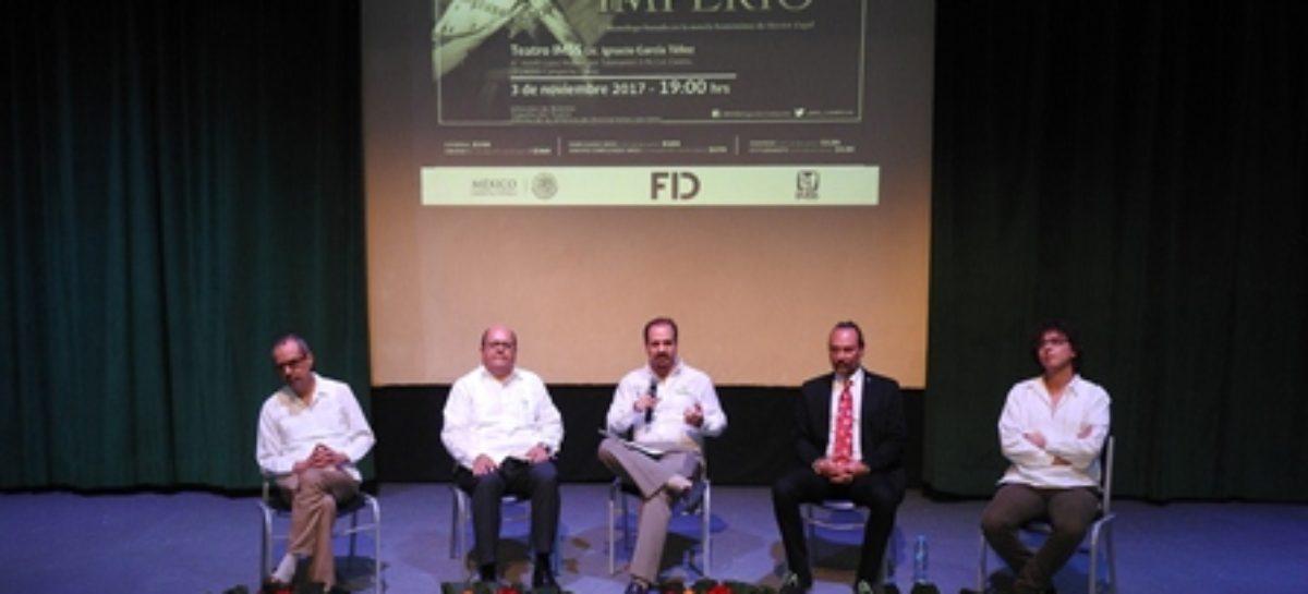 Promueve IMSS siete obras de teatro en 12 entidades del país