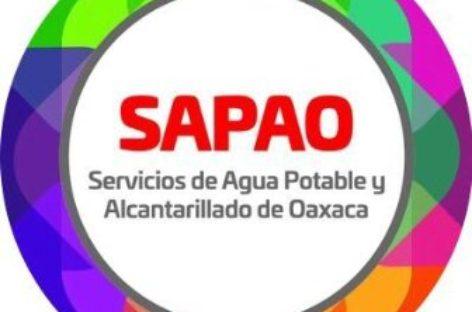 Optimiza SAPAO pago del servicio de Agua Potable en Oaxaca
