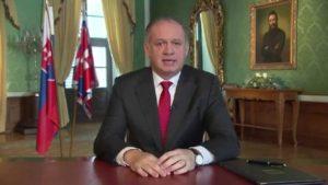 Presidente de la República Eslovaca