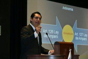 Alfonso Pérez Daza, consejero de la Judicatura Federal.