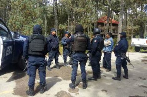 Despliegan operativo en San Pedro y San Miguel Cajonos, Oaxaca