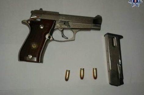 Detienen a persona que portaba arma de fuego sin licencia en el Istmo de Tehuantepec