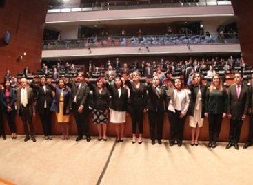 Designa Senado a magistrados de nueve órganos jurisdiccionales electorales locales