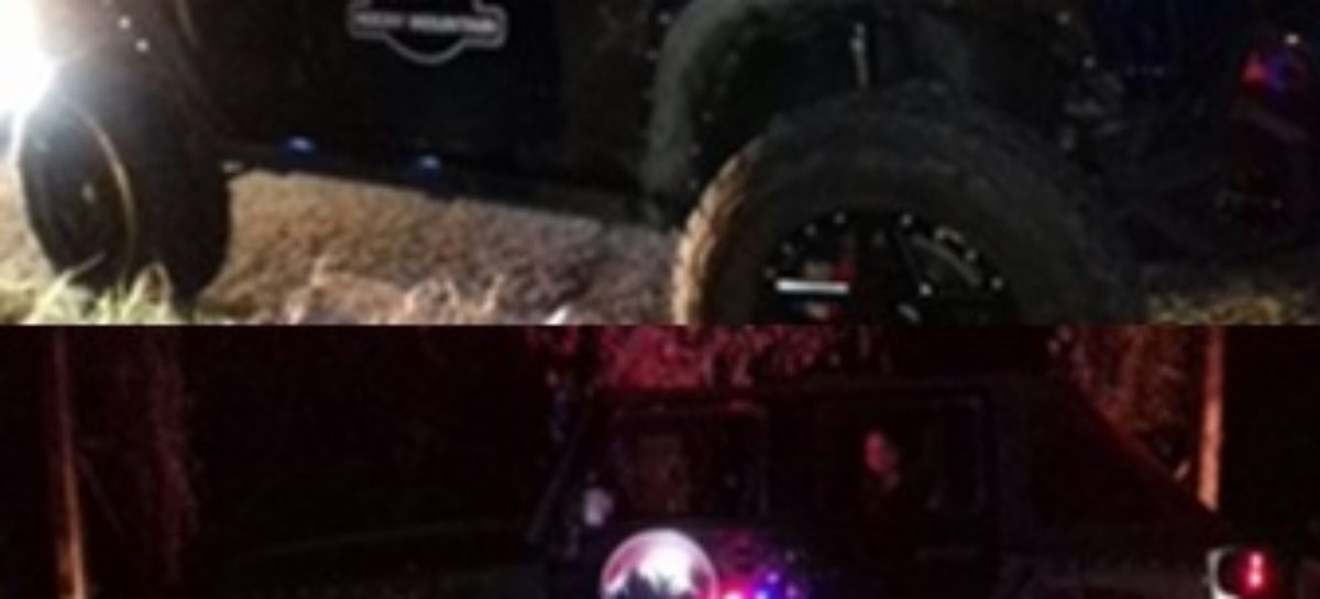 Aseguran fuerzas estatales vehículo con número de motor alterado en la Costa