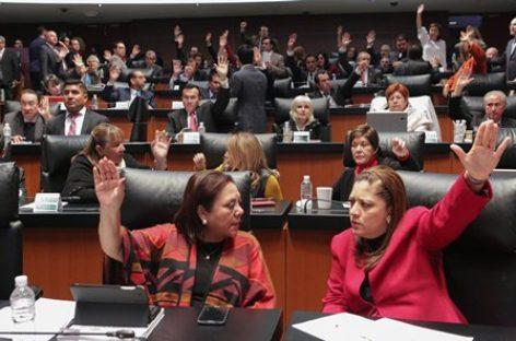 Designan a senadoras y senadores que integrarán la Comisión Permanente