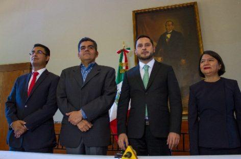 Francisco Javier Montero a asuntos indígenas y Alejandro Aroche a instituto de bachillerato