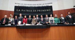 Senadores del PT, PRD y PAN y legisladores sin partido presentaron reservas al total del articulado.