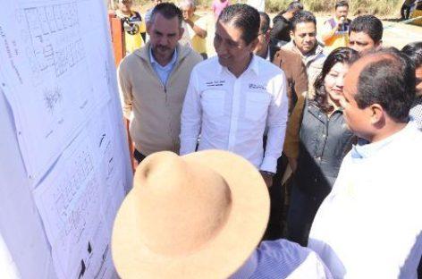 Inicia construcción de Centro de Salud en Xoxocotlán, Oaxaca