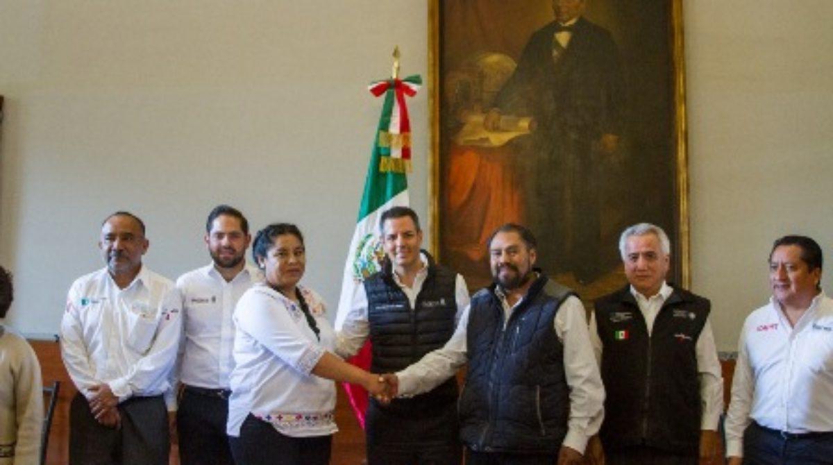 Firman convenio de paz Santo Domingo Ixcatlán y Chalcatongo de Hidalgo, Oaxaca