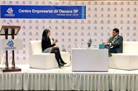 Presentan impacto de las reformas fiscales, retos económicos para Oaxaca en 2018