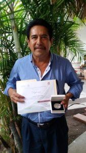 Jehú Juárez Rivera, 35 años de servicio en el área de Vectores.