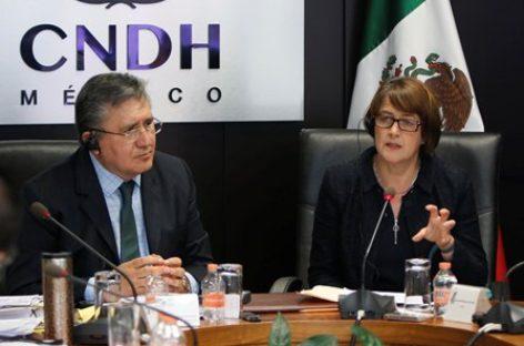 Comparten CNDH y Derechos Humanos de Irlanda experiencias sobre trata de personas