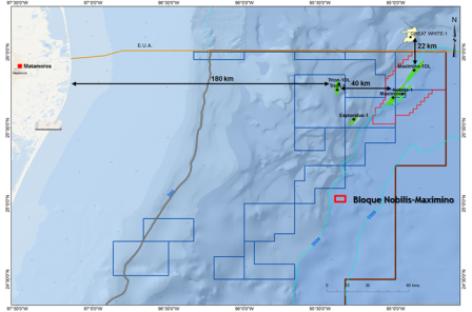Evalúa PEMEX momento para continuar proceso del farmout de aguas profundas Nobilis-Maximino