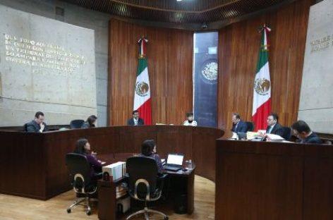 Confirma TEPJF acuerdos del INE relacionados con el proceso electoral 2017-2018