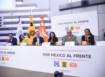 """Registran PRD, PAN y MC Coalición Electoral """"Por México al Frente"""""""