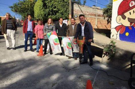 Inicia construcción de colector de captación de agua pluvial en Santa Lucía del Camino