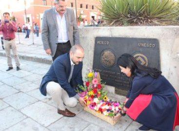 Conmemoran XXX Aniversario de Ciudad Patrimonio Mundial