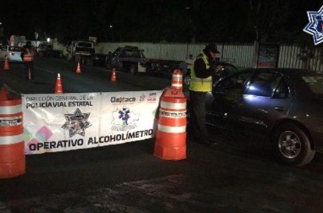 Arrestados 12 conductores en Alcoholímetro durante el primer fin de semana del 2018