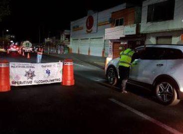 Cuatro operativos Alcoholímetro, 50 pruebas aplicadas y 20 vehículos asegurados: SSPO