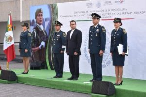 Para que el público asistente conozca las actividades que realizan las mujeres en el Ejército y Fuerza Aérea Mexicanos.