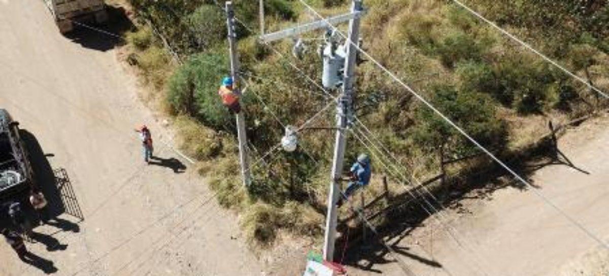 Inauguran ampliación de red de energía eléctrica en San Francisco Tutla, Oaxaca
