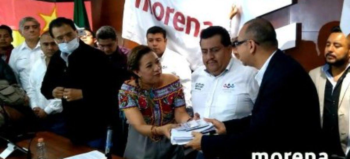 """Registran Morena, PT y PES Convenio de Coalición """"Juntos Haremos Historia"""" en Oaxaca"""