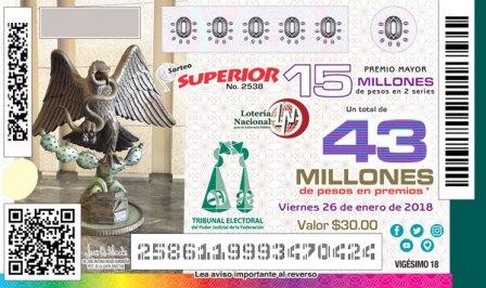 Billete de Loteria Conmemorativo