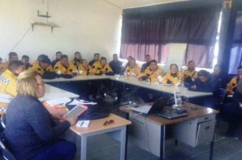 Arranca jornada de capacitación a policías en Xoxocotlán, Oaxaca