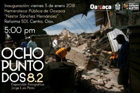 """Llegará exposición fotográfica """"Ocho Punto Dos"""" a la Hemeroteca Pública"""