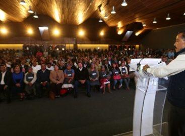 Refrenda Gobierno Federal compromiso por impulsar desarrollo social de Oaxaca